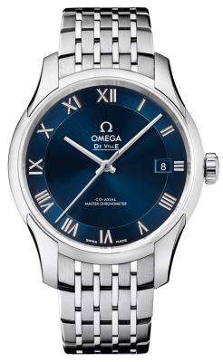 Buy this new Omega De Ville Hour Vision Co-Axial Master Chronometer 41mm 433.10.41.21.03.001 mens watch for the discount price of £4,464.00. UK Retailer.