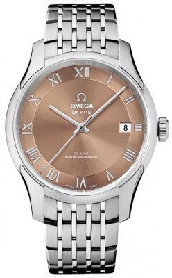 Buy this new Omega De Ville Hour Vision Co-Axial Master Chronometer 41mm 433.10.41.21.10.001 mens watch for the discount price of £4,464.00. UK Retailer.