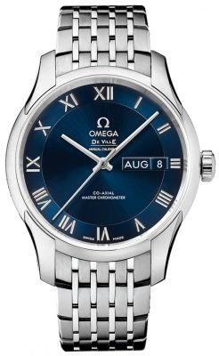 Buy this new Omega De Ville Hour Vision Annual Calendar Co-Axial Master Chronometer 41mm 433.10.41.22.03.001 mens watch for the discount price of £6,552.00. UK Retailer.