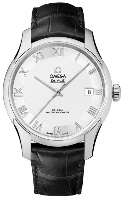 Buy this new Omega De Ville Hour Vision Co-Axial Master Chronometer 41mm 433.13.41.21.02.001 mens watch for the discount price of £4,032.00. UK Retailer.