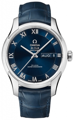 Buy this new Omega De Ville Hour Vision Annual Calendar Co-Axial Master Chronometer 41mm 433.13.41.22.03.001 mens watch for the discount price of £6,120.00. UK Retailer.