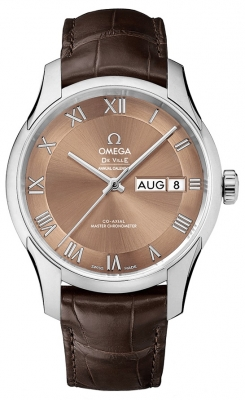 Buy this new Omega De Ville Hour Vision Annual Calendar Co-Axial Master Chronometer 41mm 433.13.41.22.10.001 mens watch for the discount price of £6,120.00. UK Retailer.