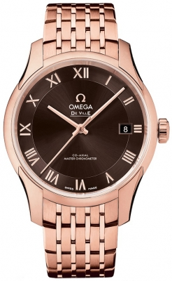 Buy this new Omega De Ville Hour Vision Co-Axial Master Chronometer 41mm 433.50.41.21.13.001 mens watch for the discount price of £20,304.00. UK Retailer.