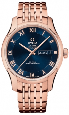 Buy this new Omega De Ville Hour Vision Annual Calendar Co-Axial Master Chronometer 41mm 433.50.41.22.03.001 mens watch for the discount price of £22,896.00. UK Retailer.