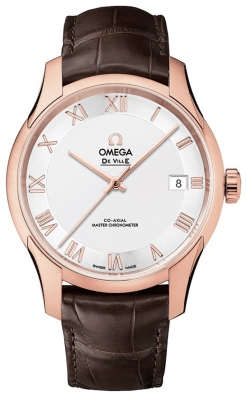 Buy this new Omega De Ville Hour Vision Co-Axial Master Chronometer 41mm 433.53.41.21.02.001 mens watch for the discount price of £11,268.00. UK Retailer.