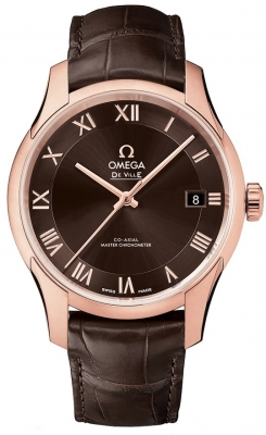 Buy this new Omega De Ville Hour Vision Co-Axial Master Chronometer 41mm 433.53.41.21.13.001 mens watch for the discount price of £11,268.00. UK Retailer.
