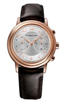 Raymond Weil Maestro Mens watch, model number - 4830-pc5-05658, discount price of £1,635.00 from The Watch Source