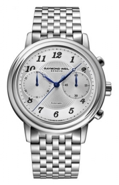 Raymond Weil Maestro Mens watch, model number - 4830-st-05659, discount price of £1,635.00 from The Watch Source
