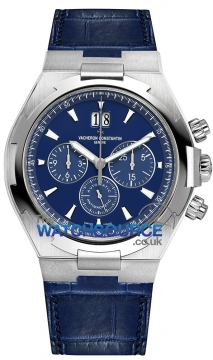Vacheron Constantin Overseas Chronograph 42mm Mens watch, model number - 49150/000a-9745, discount price of £15,980.00 from The Watch Source