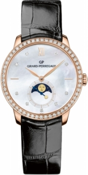 Buy this new Girard Perregaux 1966 Automatic Moonphase 36mm 49524d52a751-ck6a ladies watch for the discount price of £15,704.00. UK Retailer.