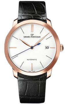 Girard Perregaux 1966 Automatic 38mm Mens watch, model number - 49525-52-131-bk6a, discount price of £8,975.00 from The Watch Source