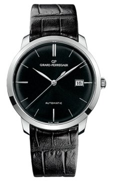 Girard Perregaux 1966 Automatic 38mm Mens watch, model number - 49525-53-631-bk6a, discount price of £11,081.00 from The Watch Source
