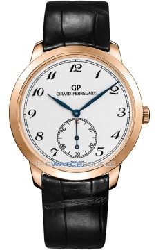Girard Perregaux 1966 Automatic Small Seconds 40mm 49534-52-711-BK6A watch