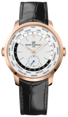 Girard Perregaux 1966 WW.TC 40mm 49557-52-131-bb6c watch