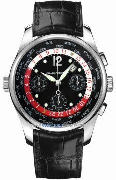 Girard Perregaux ww.tc Mens watch, model number - 49800-71-651-ba6a, discount price of £43,130.00 from The Watch Source