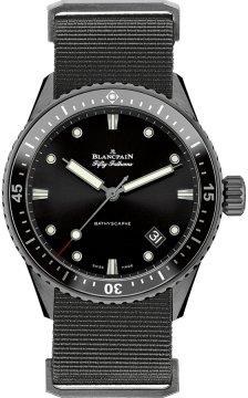 Blancpain Fifty Fathoms Bathyscaphe Automatic 43mm 5000-0130-naba watch