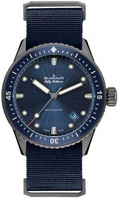 Blancpain Fifty Fathoms Bathyscaphe Automatic 43mm 5000-0240-naoa watch
