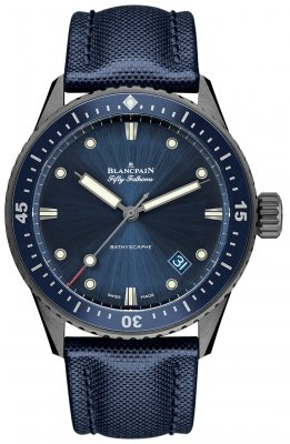 Blancpain Fifty Fathoms Bathyscaphe Automatic 43mm 5000-0240-o52a watch