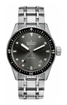 Blancpain Fifty Fathoms Bathyscaphe Automatic 43mm Mens watch, model number - 5000-1110-70b, discount price of £8,112.00 from The Watch Source