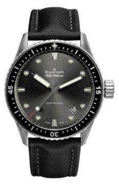 Blancpain Fifty Fathoms Bathyscaphe Automatic 43mm 5000-1110-b52a watch