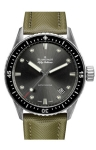 Blancpain Fifty Fathoms Bathyscaphe Automatic 43mm 5000-1110-k52a watch