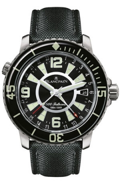 Blancpain Fifty Fathoms 500 Fathoms GMT Mens watch, model number - 50021-12b30-52b, discount price of £17,965.00 from The Watch Source
