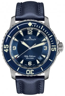 Blancpain Fifty Fathoms Automatic 5015-12b40-o52a watch