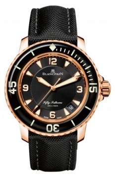 Blancpain Fifty Fathoms Automatic Mens watch, model number - 5015-3630-52b, discount price of £19,711.00 from The Watch Source