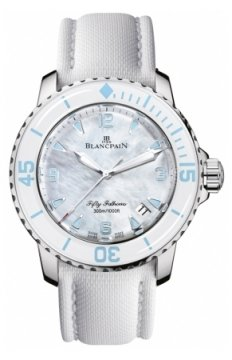 Blancpain Fifty Fathoms Automatic Ladies watch, model number - 5015a-1144-52a, discount price of £10,149.00 from The Watch Source
