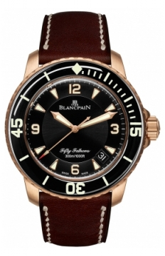 Blancpain Fifty Fathoms Automatic Mens watch, model number - 5015a-3630-63b, discount price of £19,070.00 from The Watch Source