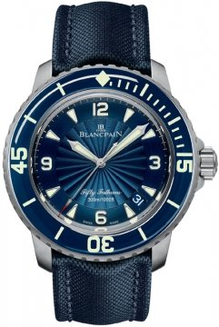 Blancpain Fifty Fathoms Automatic Mens watch, model number - 5015d-1140-52b, discount price of £9,362.00 from The Watch Source