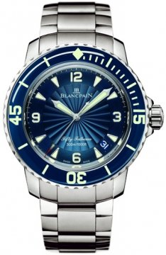 Blancpain Fifty Fathoms Automatic Mens watch, model number - 5015d-1140-71b, discount price of £9,552.00 from The Watch Source