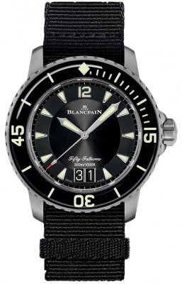 Blancpain Fifty Fathoms Grande Date 45mm 5050-12b30-naba watch