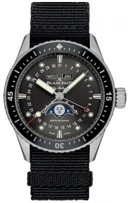 Blancpain Fifty Fathoms Bathyscaphe Complete Calendar 43mm 5054-1110-naba watch