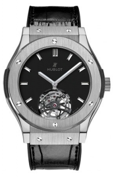 Hublot Classic Fusion Tourbillon 45mm Mens watch, model number - 505.nx.1170.lr, discount price of £44,400.00 from The Watch Source