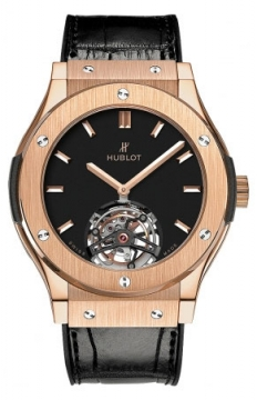 Hublot Classic Fusion Tourbillon 45mm Mens watch, model number - 505.ox.1180.lr, discount price of £50,720.00 from The Watch Source
