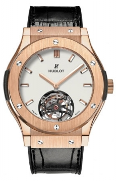 Hublot Classic Fusion Tourbillon 45mm Mens watch, model number - 505.ox.2610.lr, discount price of £50,720.00 from The Watch Source