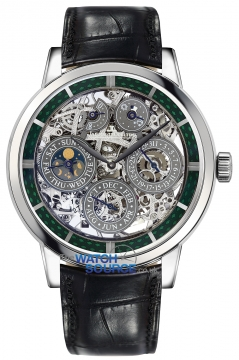 Buy this new Jaeger LeCoultre Master Grande Tradition Perpetual Calendar Skeleton 8 Days 5063540 mens watch for the discount price of £71,812.00. UK Retailer.