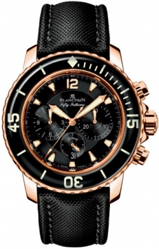 Blancpain Fifty Fathoms Flyback Chronograph Mens watch, model number - 5085F-3630-52, discount price of £19,830.00 from The Watch Source