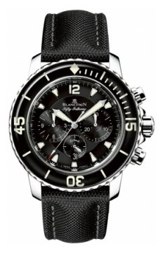 Blancpain Fifty Fathoms Flyback Chronograph Mens watch, model number - 5085f-1130-52b, discount price of £10,854.00 from The Watch Source