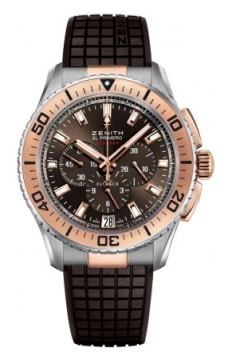 Zenith El Primero Stratos Flyback Mens watch, model number - 51.2061.405/75.R516, discount price of £8,590.00 from The Watch Source