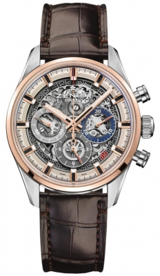 Zenith Chronomaster El Primero Full Open 38mm 51.2151.400/78.c810 watch