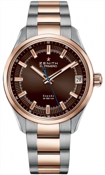 Zenith El Primero Espada Mens watch, model number - 51.2170.4650/75.m2170, discount price of £6,340.00 from The Watch Source
