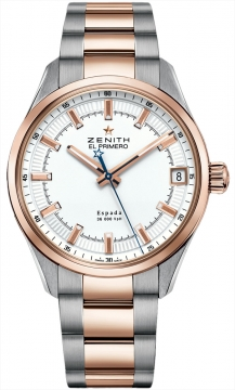 Zenith El Primero Espada Mens watch, model number - 51.2170.4650/01.m2170, discount price of £6,140.00 from The Watch Source