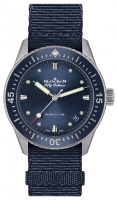 Blancpain Fifty Fathoms Bathyscaphe Automatic 38mm 5100-1140-naoa watch