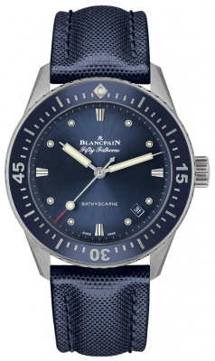 Blancpain Fifty Fathoms Bathyscaphe Automatic 38mm 5100-1140-o52a watch
