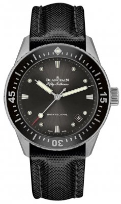 Blancpain Fifty Fathoms Bathyscaphe Automatic 38mm 5100b-1110-b52a watch
