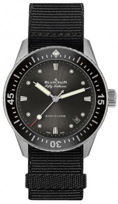 Blancpain Fifty Fathoms Bathyscaphe Automatic 38mm 5100b-1110-naba watch