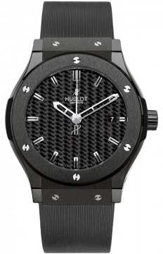 Hublot Classic Fusion Automatic Black Magic Ceramic 45mm Mens watch, model number - 511.cm.1770.rx, discount price of £6,240.00 from The Watch Source