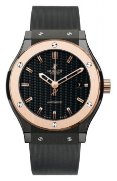 Hublot Classic Fusion Automatic Black Magic Ceramic 45mm Mens watch, model number - 511.co.1780.rx, discount price of £7,920.00 from The Watch Source